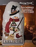 Snowman Sentinel Welcome - Cross Stitch Pattern