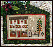 Bookstore - Hometown Holiday - Cross Stitch Pattern