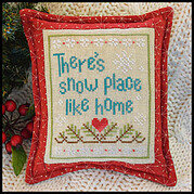 Snow Place Like Home 3 - Cross Stitch Pattern