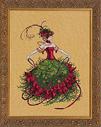 Miss Christmas Eve - Cross Stitch Pattern