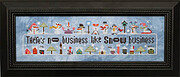 Snowscapes & Snow Squalls Part 1 - Cross Stitch Pattern
