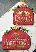 12 Days Partridge & Doves - Cross Stitch Pattern