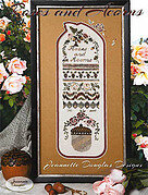 Roses & Acorns Sampler - Cross Stitch Pattern