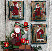 Santas Revisited III  (1987, 1993, 1996) - Cross Stitch Patt