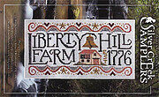 Liberty Hill Farm - Cross Stitch Pattern