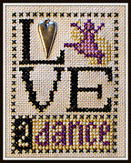Love 2 Dance - Cross Stitch Pattern