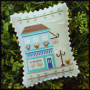 Main Street Flower Shop - Cross Stitch Pattern