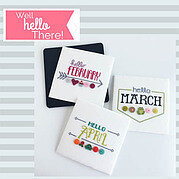 Well Hello There - Cross Stitch Pattern