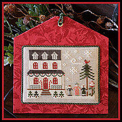 Grandma's House - Hometown Holiday - Cross Stitch Pattern