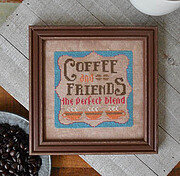 Coffee & Friends - Cross Stitch Pattern