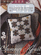 Fragments in Time 2017 - Number 5 - Cross Stitch Pattern