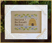 Bee Virtues - Cross Stitch Pattern
