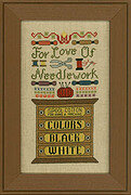 For the Love of Needlework - Cross Stitch Pattern