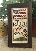 July Mini Sampler - Cross Stitch Pattern