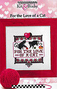 For the Love of a Cat - Cross Stitch Pattern