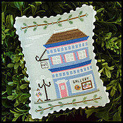 Main Street Art Gallery - Cross Stitch Pattern