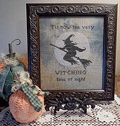 Witching Time of Night - Cross Stitch Pattern