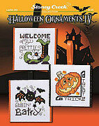 Halloween Ornaments IV - Cross Stitch Pattern