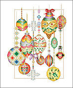 Holiday Sparkle - Cross Stitch Pattern