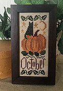 October Mini Sampler - Cross Stitch Pattern