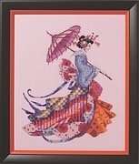 Miss Cherry Blossom - Cross Stitch Pattern