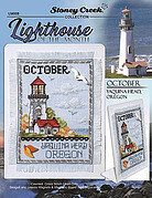 Lighthouse of the Month - October - Cross Stitch Pattern
