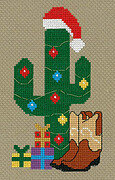 Cowboy Christmas - Cross Stitch Pattern