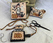 Bewitched Sewing Set - Cross Stitch Pattern