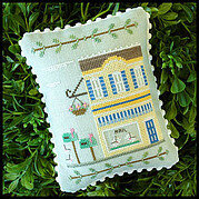 Main Street Post Office - Cross Stitch Pattern