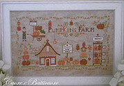 Pumpkins Farm - Cross Stitch Pattern