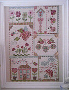 Spring in Quilt - Cross Stitch Pattern