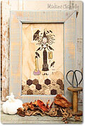 La Strega Dei Corvi - Cross Stitch Pattern
