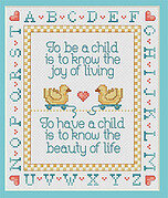 A Child's Joy - Cross Stitch Pattern
