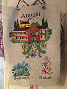 August - Cross Stitch Pattern
