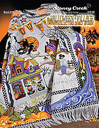 Halloween Village Collector's Series Afghan