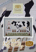 Eight Maid's a Milking - Cross Stitch Pattern