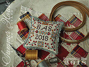 Fragments in Time 2018 - No 2 - Cross Stitch Pattern