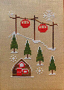 Cable Cars - Cross Stitch Pattern