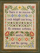 Delightful Seasons - Cross Stitch Pattern