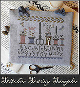 Stitcher Sewing Sampler - Cross Stitch Pattern