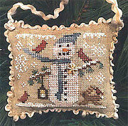 Snowy Friends - Cross Stitch Pattern