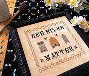 Bee Hives Matter - Cross Stitch Pattern