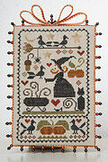 Ma Sorciere Bien Aimee - Beloved Witch Cross Stitch Pattern