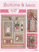 Buttons & Lace - Cross Stitch Pattern
