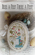 Here a Peep, There a Peep - Cross Stitch Pattern