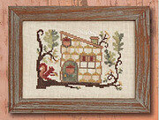 Red's Tree House - Cross Stitch Pattern