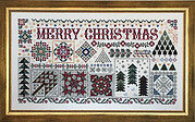 Christmas Quilts - Cross Stitch Pattern