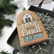 Tree Farm (White Christmas) - Cross Stitch Pattern