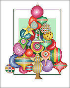 Ornament Tree - Cross Stitch Pattern
