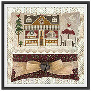 Coffee Shop - Hometown Holiday - Cross Stitch Pattern
